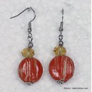 boucles d'oreille 0312131 orange