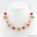 collier 0113364 rose
