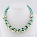 collier 0114267 bleu turquoise